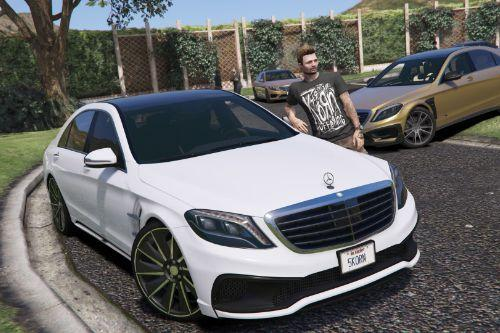 7959f4 mercedes s550 wald w222 by gta5korn
